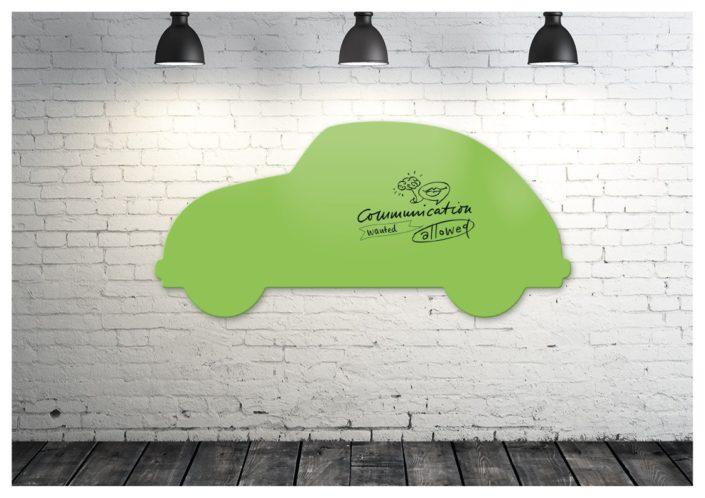 Dein edel Glasboard mit dem Kult-Käfer